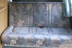1997 VW T4 Autosleeper Upholstery Material