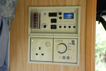 VW T4 Autosleeper Trooper Zig  Control Panel