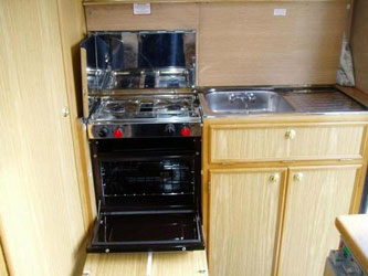 VW T4 Autosleeper Clubman GL Oven