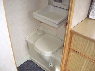 VW T4 Autosleeper Clubman Toilet Cubicle