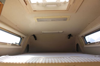 VW T4 Autosleeper Topaz Overcab Child Bed