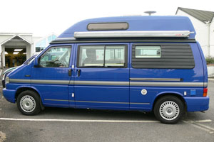 VW T4 Autosleeper TopazI  Indian Blue