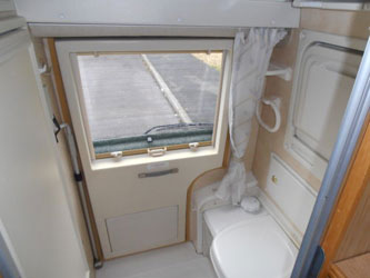 VW T4 Autosleeper Topaz Rear Door