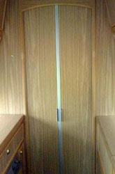 VW T4 Autosleeper Topaz Shower Door