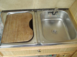 VW T4 Autosleeper Topaz Sink And Mixer Tap