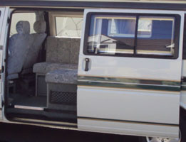 VW T4 Autosleeper Topaz Sliding Door