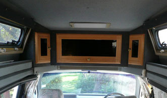VW T4 Autosleeper Topaz Top Locker Early Models