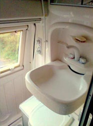 VW T4 Autosleeper Topaz Washbasin