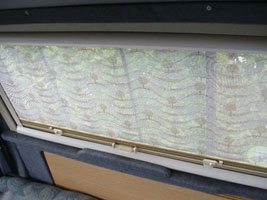VW T4 Autosleeper Topaz Window Blinds