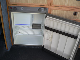 VW T4 Autosleeper Trooper Electrolux Fridge