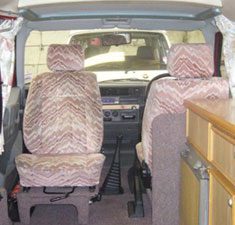 VW T4 Transporter Autosleeper Trooper Front Swivel Seat