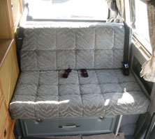 VW T4 Autosleeper Trooper Rear Seat