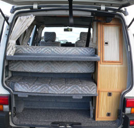 VW T4 Transporter Autosleeper Trooper Tailgate