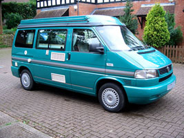 VW T4 Autosleeper Trooper Poptop Camper  Green