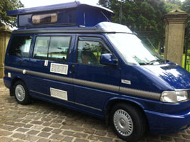 VW T4 Autosleeper Trooper Indian Blue