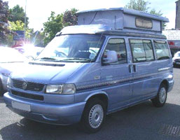VW T4 Autosleeper Trooper Camper  Nebio Blue