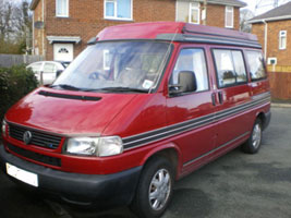 VW T4 Autosleeper Troope rRed