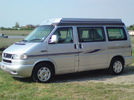 VW T4 Autosleepe rTrooper Camper Silver