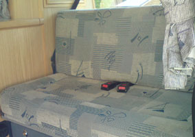 2002 Autosleeper Trooper Upholster