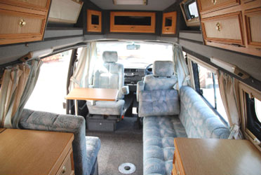VW T4 Autosleeper Trophy Furniture Layout1