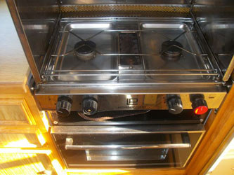 VW T4 Autosleeper Trophy Oven And Hob