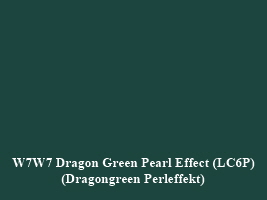 VW LC6P Dragon Green Pearl Effect