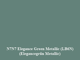 VW LB6N Elegance Green Metallic