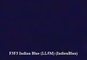 VW LL5M  Indian Blue